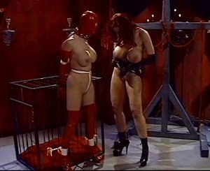 Lesbian Gimp with Her Master, Free MILF Porn 3d: