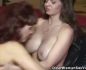 Dildo Playing Busty Mature Lesbians, Free Porn 3c: