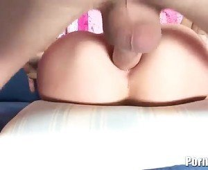 A Pornstar Gets A Piledriving Anal Plus A Messy Facial