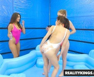 RealityKings - We Live Together - Slippery Swimsuits starrin