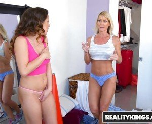 RealityKings - Moms Lick Teens - Spring Cleaning